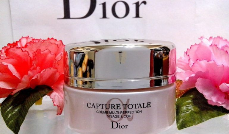 Total skin renovation – anti-wrinkle cream,  Multi – Performance, Capture Totale, Dior.