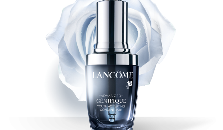 Youth activation with Advanced Génifique from Lancôme.