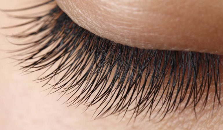 The way for having long and thick eyelashes